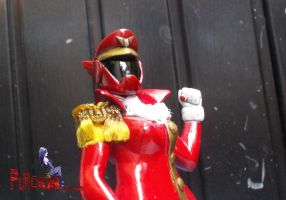 power rangers rainbow guardians oc red by puticron