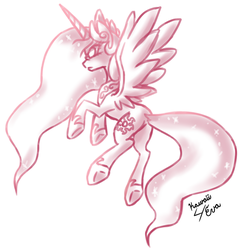 Ragin' Celestia by Kawaii4eva