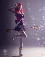 Star Guardian Lux Cosplay from League of Legends by xAndrastax