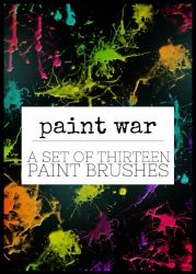 Paint War by missfairytaled