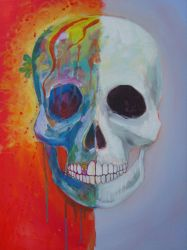 Skull unfinished by mayke