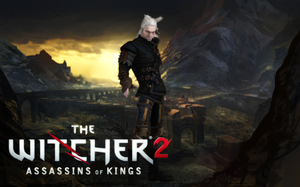 The Witcher 2 - Geralt by o0Cristian0o