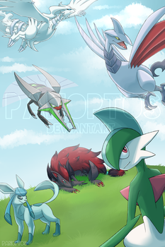 They soar like the wind! by Panoptos
