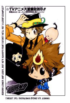 Tsuna Reborn Color by pyrogamer01