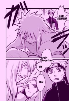 DOUJINSHI of JIRAIYA and NARUTO by Lantern6