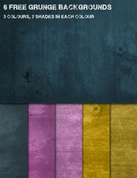 Colourful Grunge Texture Backgrounds by JaneVision