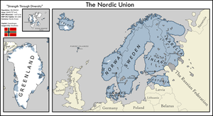 The Nordic Union by xlander684