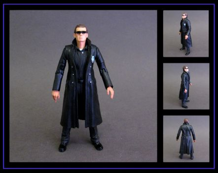 the master (eric roberts) custom figure by nightwing1975