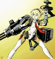 Aigis Assault Mode by theintrovert