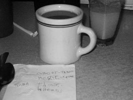 still life in a diner by scixual