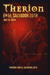 Arte 1 Therion Fans 2018 in El Salvador by akashadeargdue