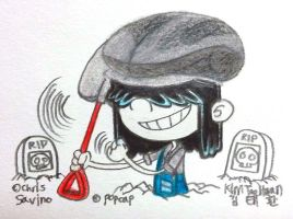 Lucy as Mixed-Up Gravedigger by komi114