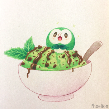 Choco Mint by Phoelion