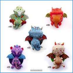 Dragon Charms Collection 3 by buzhandmade
