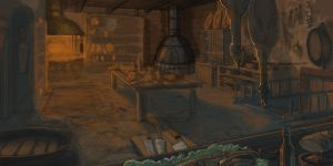 Gilead Kitchen by Rusty001