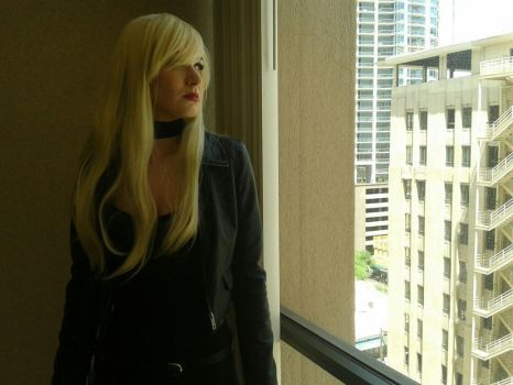 Black Canary Round 2 - PHX Comicon 2013 by silverfangcracker