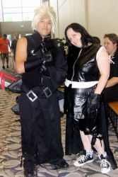 Advent Children Cloud and Tifa by SpellboundFox