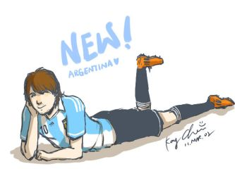ARG NEW Jersey by kay924026