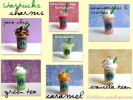 Starbucks Charms by LittleSweetDreams