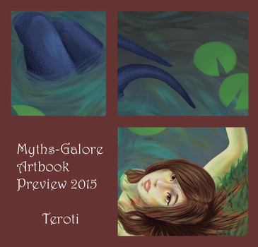 Myths-Galore Artbook Preview by Teroti