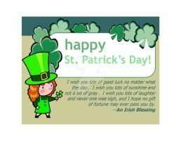 St Patrick's Day ecard by CopperSphinx