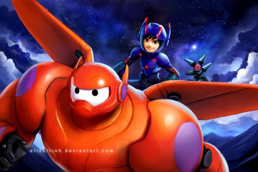 Big Hero 6 - Flying High by elisetrinh