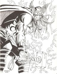 Mighty Thor by GraphicNaitsirch