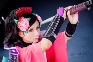 Princess Momohime by Witchiko