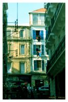 Martyrs' Square old streets  (Algeria) by dimajaber