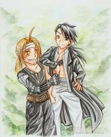 FMA - Ed and Lin by oOFlorianeOo