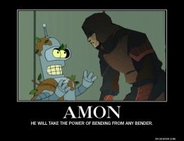 Motivator: Amon and Bender by SilverZeo