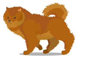 chow chow B by PurpleRat-YS