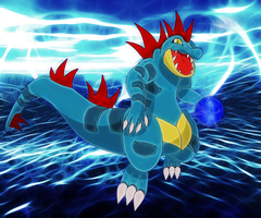 raging water feraligatr
