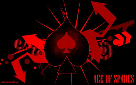Ace of Spades Wallpaper by exoticdezines