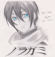 Yato - Noragami by ppeach444