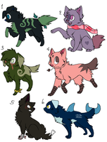 Point Adoptables 2 by FloralAdopts