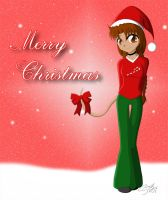 CJ - Xmas Card '07 by artisticTaurean