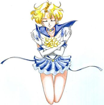 Eternal Sailor Uranus by Suryakami