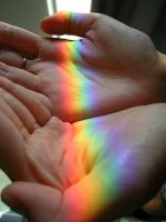 Rainbow in my Hands by vvens
