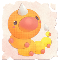 Weedle by Louivi