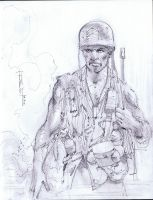 Sgt. Rock by Fusciart