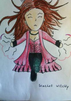 Scarlet Witchy by LucyMP
