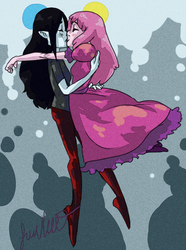 Bubbline by lyricalmime