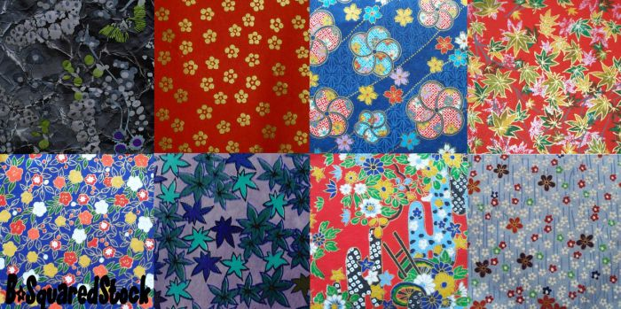 Asian Patterns by B-SquaredStock
