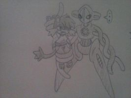 Kalama meets Deoxys part 1 by cardfightvanguard62