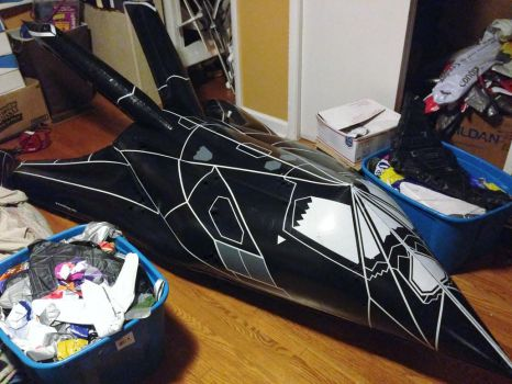 Stryker The Giant Inflatable F117 Stealth by NinjaPickle