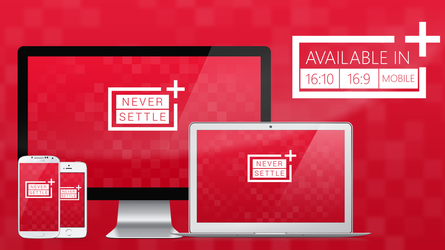OnePlus NEVER SETTLE - Wallpaper HD by MilesAndryPrower