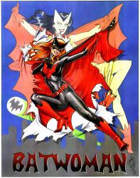 Batwoman Reborn by andypriceart