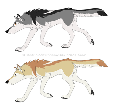 Playing with pelt colours by Shadowphoenix21