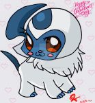 Valentines Day Absol! by Colorful-Kaiya